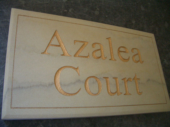 High quality custom stone house signs for Design your own house sign