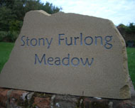 superb yorkshire stone houes signs with deep engrave